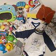 Отдается в дар Детские вещи для мальчика (рост 62) и игрушки и всякие детские мелочи