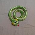 Отдается в дар Мягкие игрушки: змейка и питон
