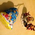 Отдается в дар Новогодний сувенир и баночка-ёлочка