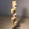 Отдается в дар деревянная игрушка «Ведрышки и шарики»