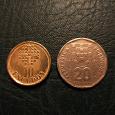 Отдается в дар Две монеты Португалии