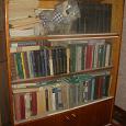 Отдается в дар Советский книжный шкаф