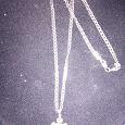 Отдается в дар Серебряная цепочка и серебряный крестик