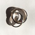 Отдается в дар Тройное кольцо на палец трехцветное