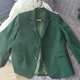 Отдается в дар Зеленый школьный пиджак для мальчика