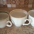 Отдается в дар Три разные кофейные чашечки Дулево