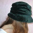 Отдается в дар Темно зеленая шляпа (Италия)