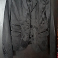 Отдается в дар Чёрный пиджак 46 р.