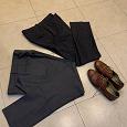 Отдается в дар Мужские брюки офисные, размер L