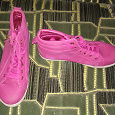 Отдается в дар Розовые ботинки-кеды