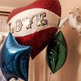 Отдается в дар Фольгированный шар Love