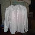 Отдается в дар дарю белую блузку для девочки рост до 140 см
