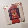 Отдается в дар Набор для вышивания «Рыжий кот».