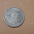 Отдается в дар Монета 20 центов 1999г.