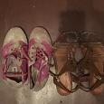 Отдается в дар Обувь для девочки 33 размер