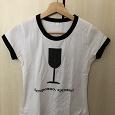 Отдается в дар Женская футболка, футболка для девочки, размер XS