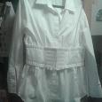 Отдается в дар Блуза белая 42-44