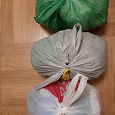 Отдается в дар Пакеты с пакетами 3 шт по 10