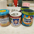 Отдается в дар Детское пюре питание