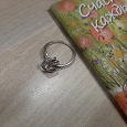 Отдается в дар Серебряные кольца б/у, размер 16-17
