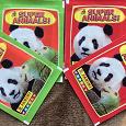 Отдается в дар Пакетики с наклейками к альбому Panini Super Animals.