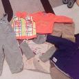 Отдается в дар Детская одежда на мальчика разные размеры
