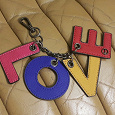 Отдается в дар Подвеска для сумки Love
