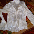 Отдается в дар блуза, кофточка, и желеточка теплая