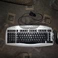 Отдается в дар Клавиатура и мышь