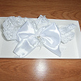 Отдается в дар подвязка невесты