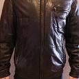 Отдается в дар Куртка мужская, кожа, 48-50, 186