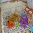 Отдается в дар защита в детскую кроватку «Мишки Спят»