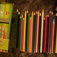 Отдается в дар Карандаши детские, цветные