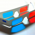 Отдается в дар Анаглифные 3D стереоочки красно-синие (red-cayan)