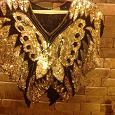 Отдается в дар Нарядная блуза золотая
