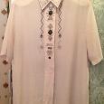 Отдается в дар Легкая женская блуза, размер 52-54