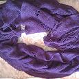 Отдается в дар Легкий шарф сиреневого цвета