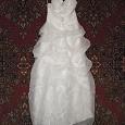 Отдается в дар свадебное платье 44-48