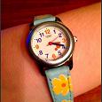 Отдается в дар детские часы кассио