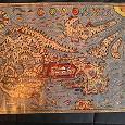 Отдается в дар Плакат-карта Соловецких островов