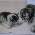 Отдается в дар Почтовая карточка 1957 г.