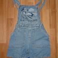 Отдается в дар Детский джинсовый комбинезон-шорты