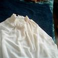 Отдается в дар шифоновая юбка на резинке