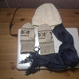 Отдается в дар Шапка, шарф, варежки