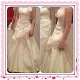 Отдается в дар Новое свадебное платье! От 40 до 44, рост 156-165(примерно)