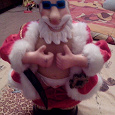 Отдается в дар Санта Клаус музыкальный