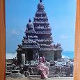 Отдается в дар Карточка с изображением индийского храма