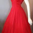 Отдается в дар Платье в стиле 60-х… новое х/б