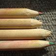 Отдается в дар карандаши цветные радужные