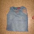 Отдается в дар Кофточка джинсовая, 44-46 размер